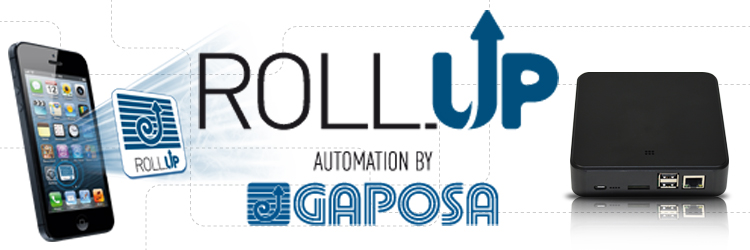 Roll.UP - L' app per la domotica